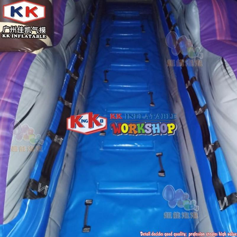 36ft Front Loader Inflatable Water Slide, Tsunami Bay Water Slide