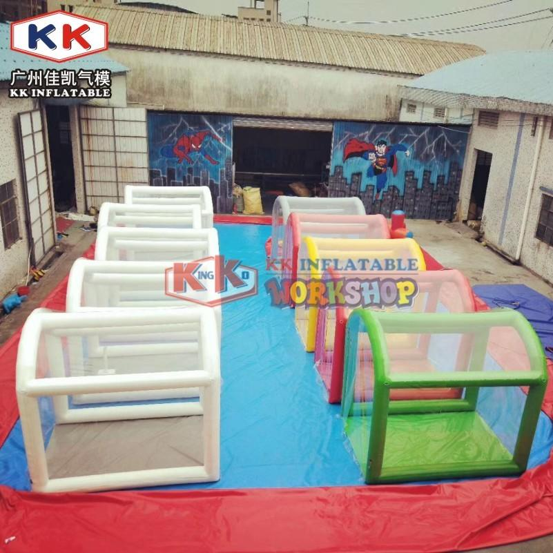Inflatable Sanitary Gateway Tent, Disinfection Spray Tunnel With Fog Machine