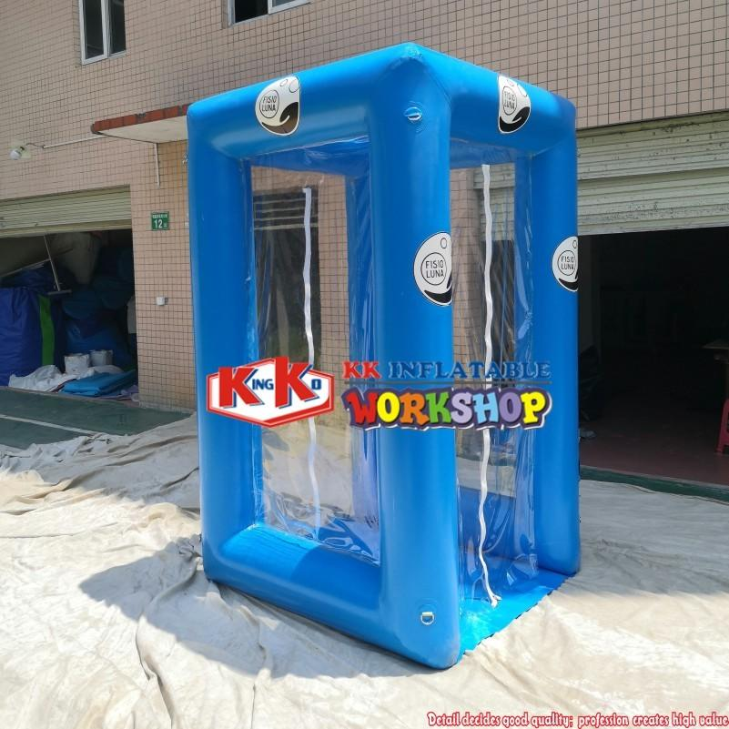 2020 Mobile inflatable disinfection channel medical tent inflatable disinfection tunnel tent