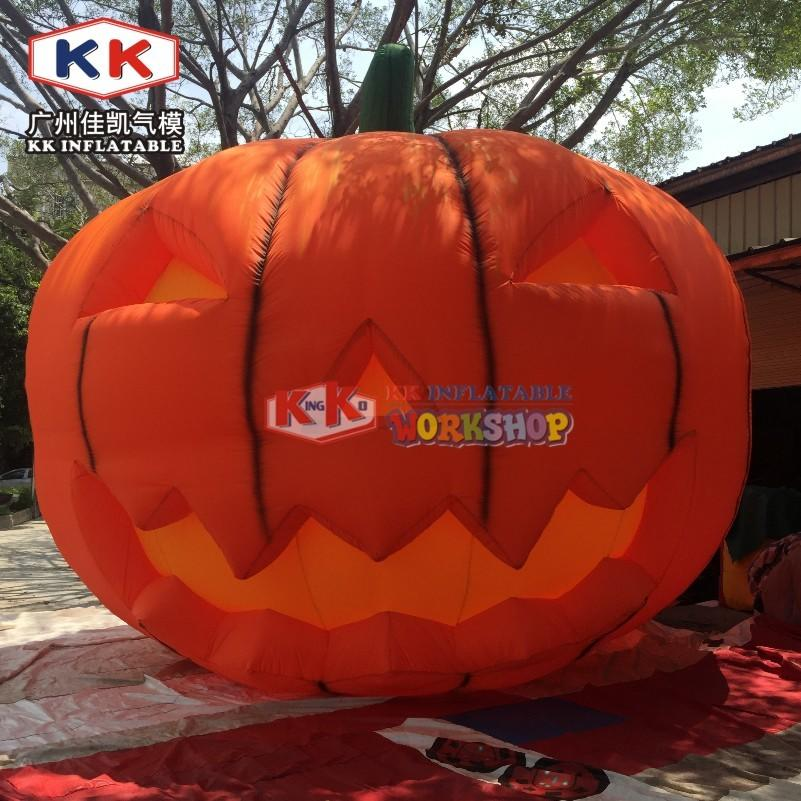 Giant Halloween Pumpkin Air Blown Inflatable Pumpkin Jack-O-Lantern