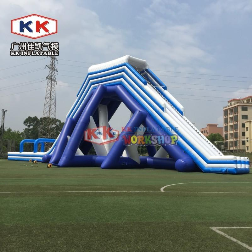 Entertainment Long Blow Up Slip N Slide , Toddler Inflatable Slide Hire Silk Printing