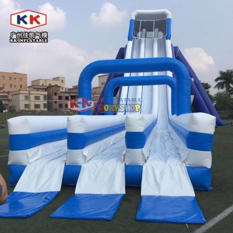 Entertainment Long Blow Up Slip N Slide , Toddler Inflatable Slide Hire Silk Printing