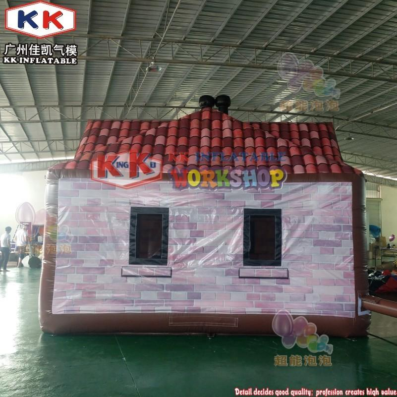 Commercial outdoor inflatable drinking pub/ house tent bar serving
