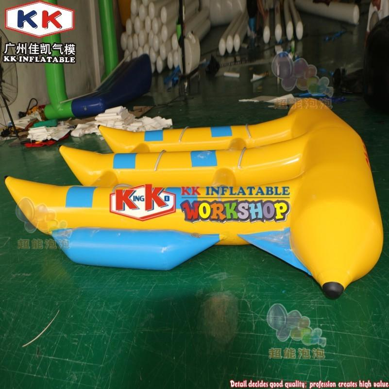 Crazy Design Inflatable Fly Fish Price, Banana Boat Inflatable Flying Fish Towable For Water Sea Sport