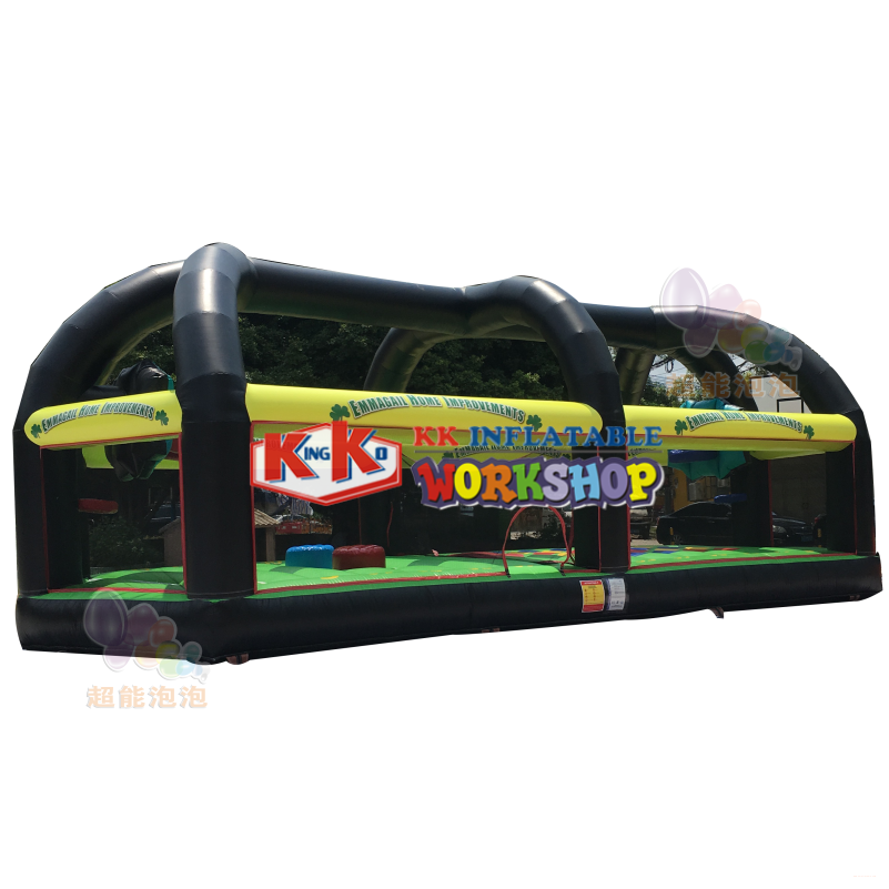 New Product 4 in 1 Sports Arena Inflatable Sports Games,Interactive Inflatable Carnival Game Challenge