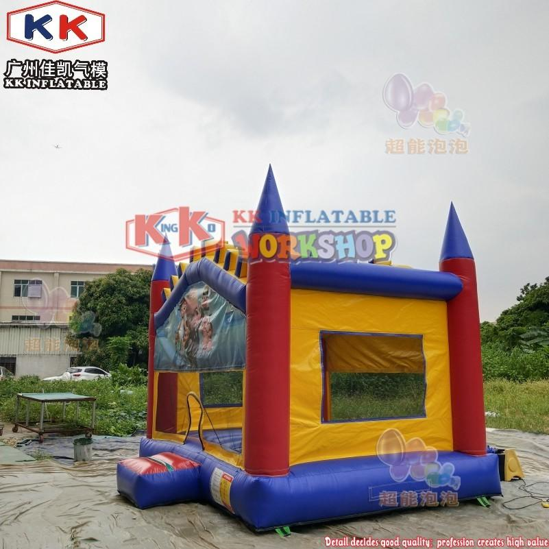 Baby Boss Inflatable Carton Bouncy House Castle, Jumping castle for garden use