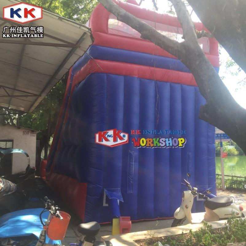 Super Popular Spiderman Theme Inflatable Slide with Great Printings