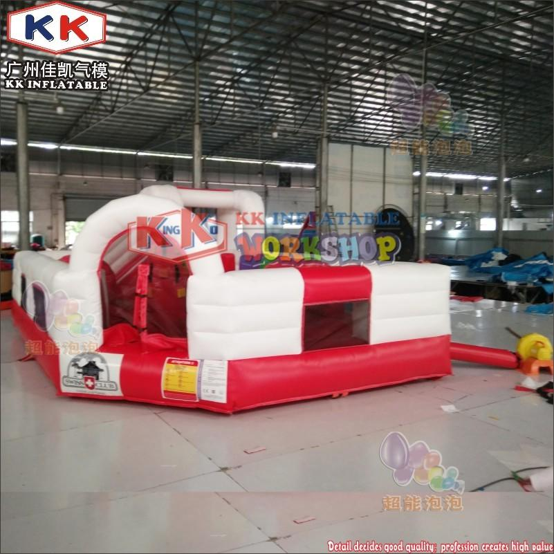 0.55mm PVC tarpaulin Durable Inflatable Jumper Castle Cheap Residential Bouncer For Children Park