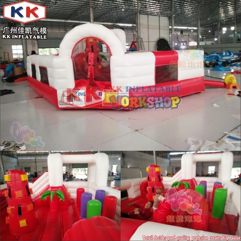 0.55mm PVC tarpaulin Durable Inflatable Jumper Castle Cheap Residential Bouncer For Children Park