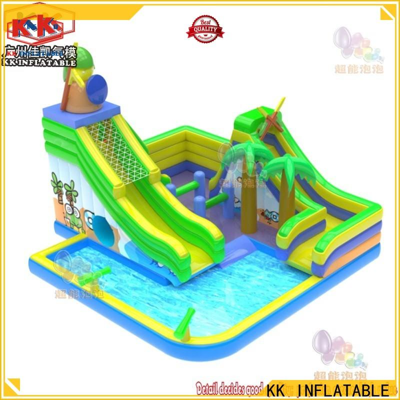KK INFLATABLE portable blow up water slide buy now for swimming pool
