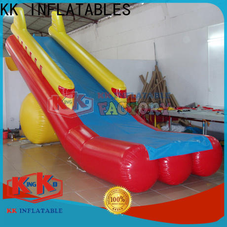 KK INFLATABLE long inflatable water park free sample for swimming pool