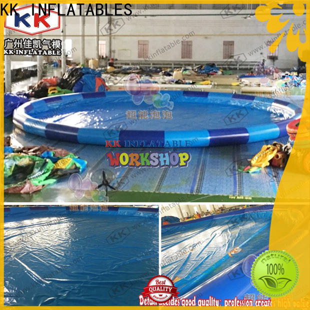 KK INFLATABLE solid mesh blow up pool supplier