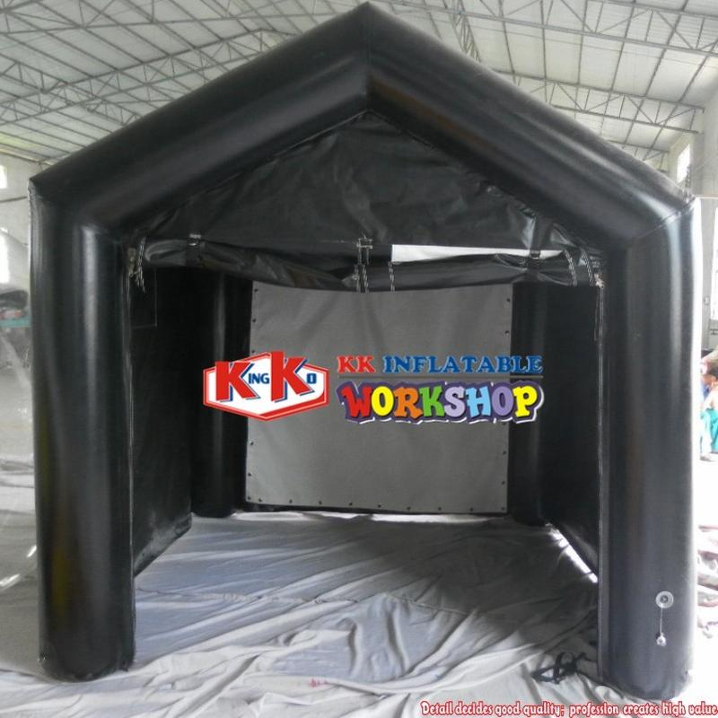 Giant Inflatable Golf Shooting Practice Net Projection Cage Simulator Tent