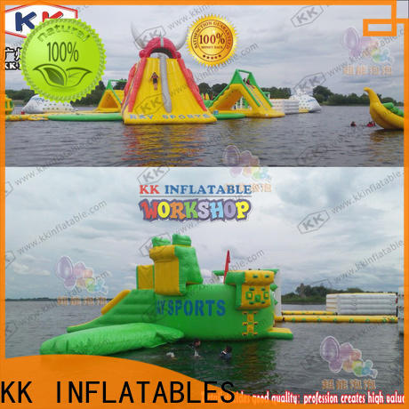large inflatable water playground dinosaur manufacturer for beach