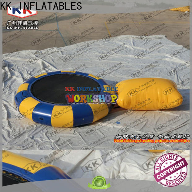 KK INFLATABLE transparent inflatable pool toys colorful for seaside