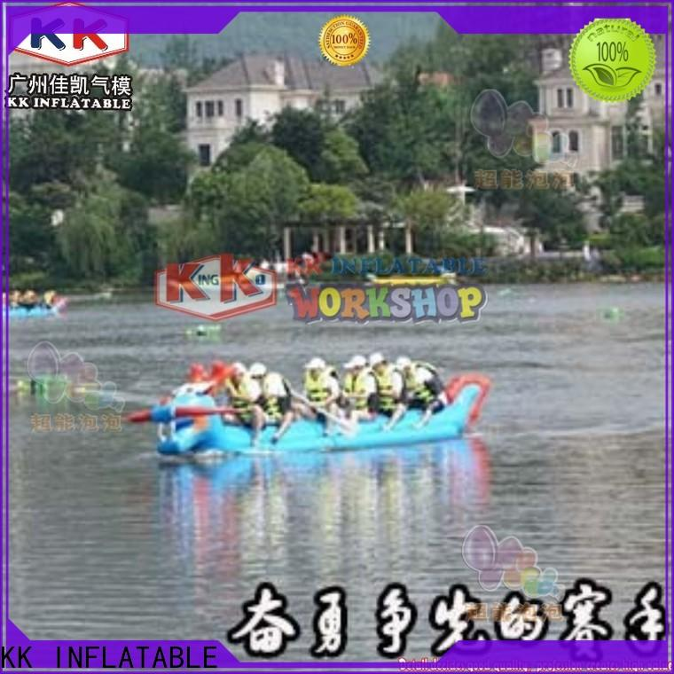 KK INFLATABLE durable inflatable boat supplier for sports games