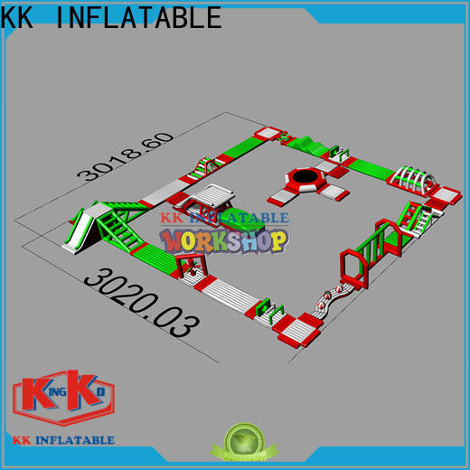 KK INFLATABLE durable inflatable water parks supplier for beach
