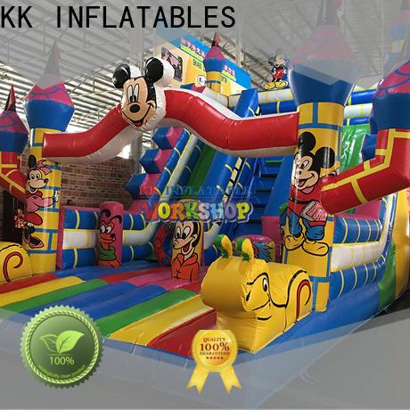 KK INFLATABLE durable jumping castle factory direct for children