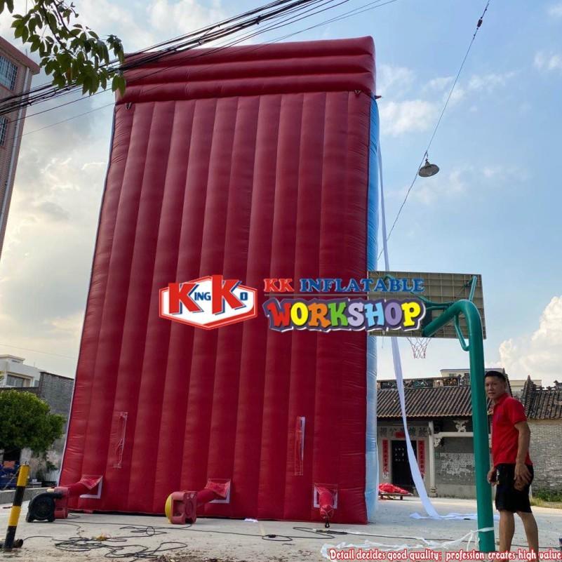 amusemenr park giant slide equipment Inflatable super hero dry slide