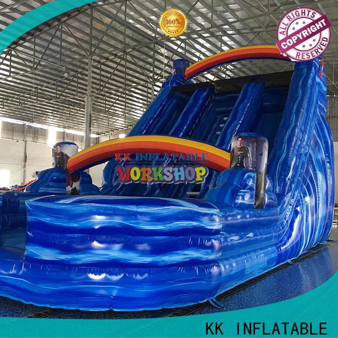 KK INFLATABLE transparent pig inflatable slide manufacturer for paradise