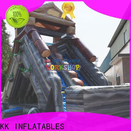 KK INFLATABLE slide combination big water slides manufacturer for parks