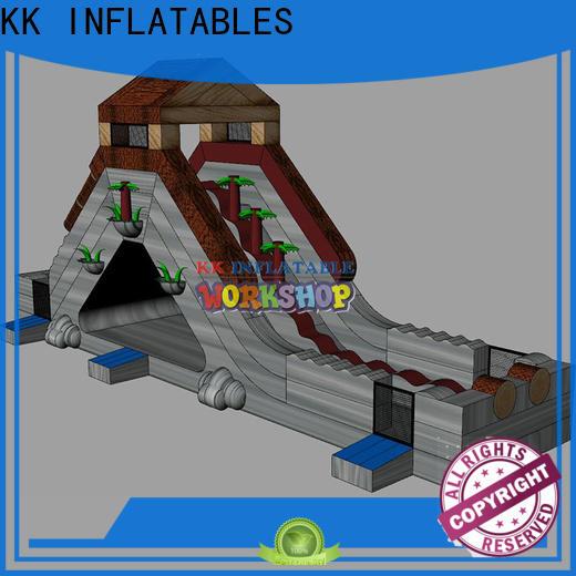 KK INFLATABLE slide combination inflatable slide manufacturer for parks