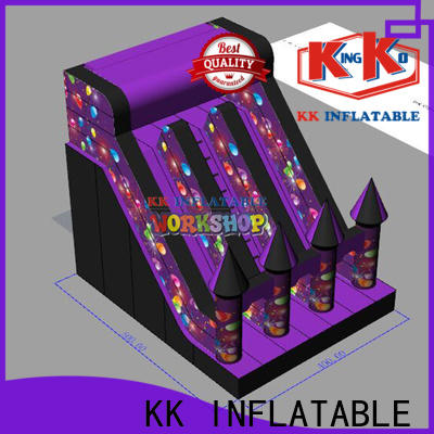 KK INFLATABLE creative big water slides various styles for playground