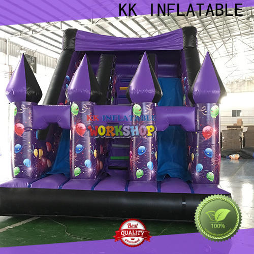 KK INFLATABLE hot selling inflatable slide manufacturer for paradise