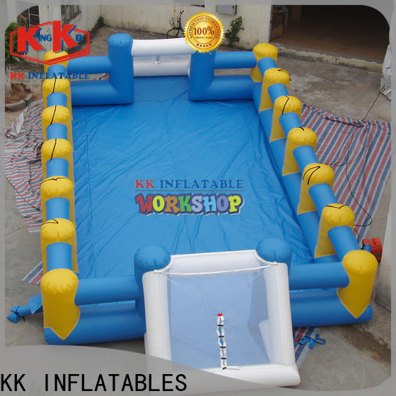 KK INFLATABLE long kids climbing wall manufacturer for training game