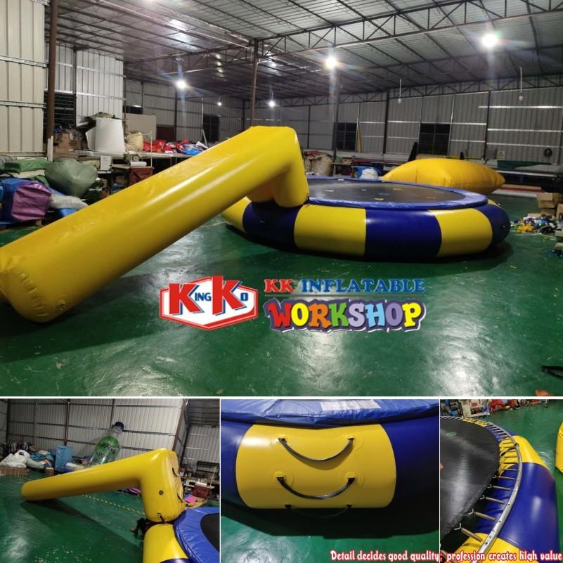 Hot Used in Lake Inflatable Water Catapult Blobs, Inflatable Water Blob Trampoline