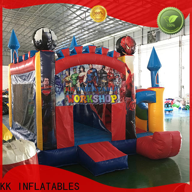 KK INFLATABLE tarpaulin water slide jumper supplier for paradise