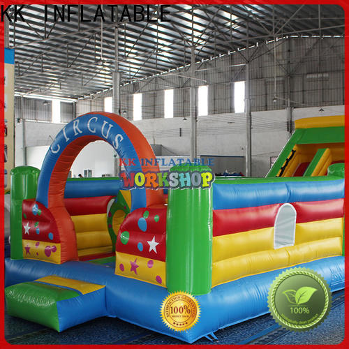 KK INFLATABLE tarpaulin inflatable combo wholesale for christmas