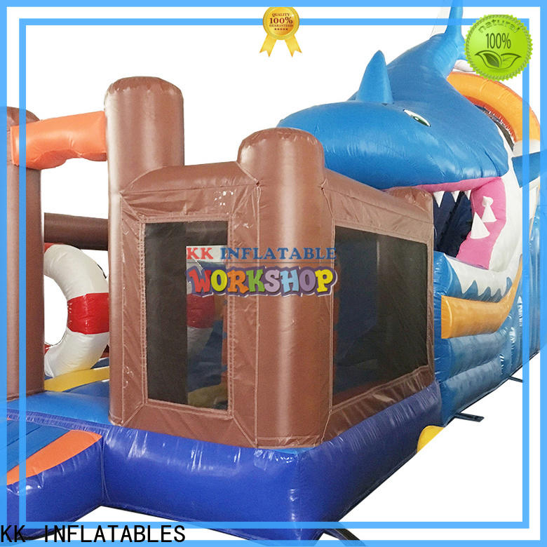 customized inflatable combo trampoline wholesale for christmas