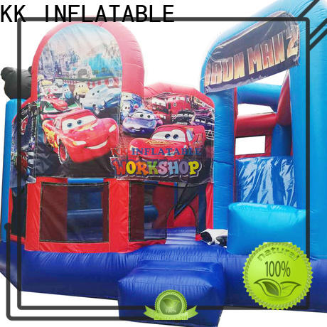 hot selling water slide jumper tarpaulin wholesale for amusement park