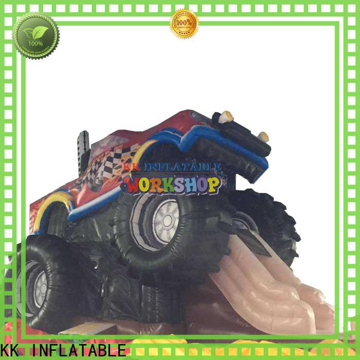 KK INFLATABLE castle inflatable slide supplier for parks