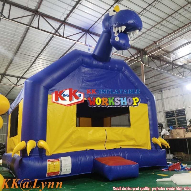 Kids Jumping DINOSAUR THEMED BOUNCE HOUSE Dino Park Bouncer