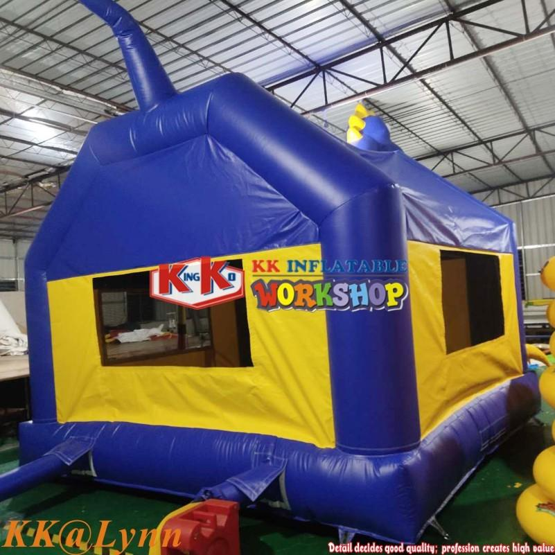 Kids Jumping DINOSAUR THEMED BOUNCE HOUSE Dino Park Bouncer