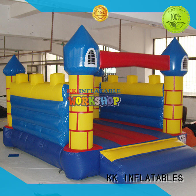 animal shape jumping castle transparent for playground KK INFLATABLE