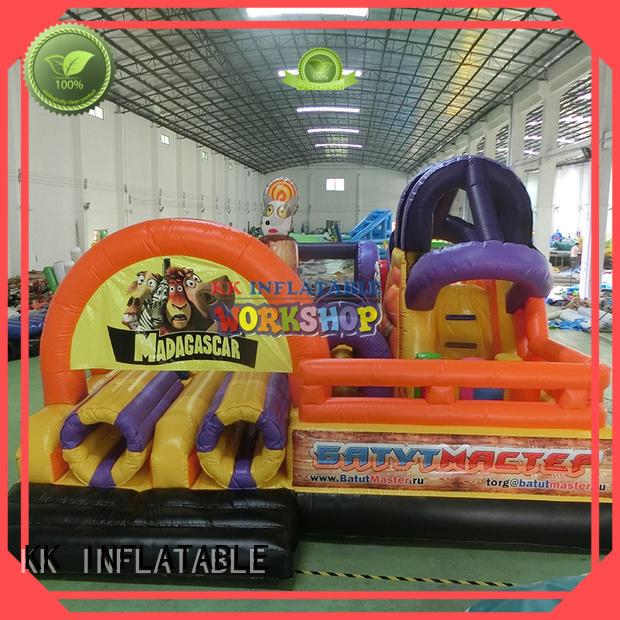 bouncy technology OEM inflatable combo KK INFLATABLE