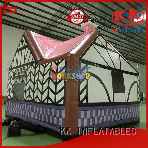 crocodile style pump up tent multipurpose for Christmas KK INFLATABLE