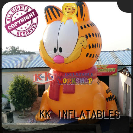 waterproof inflatable advertising animal model colorful for shopping mall