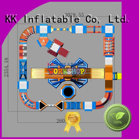 KK INFLATABLE Brand inflatable sports water inflatable water playground toy