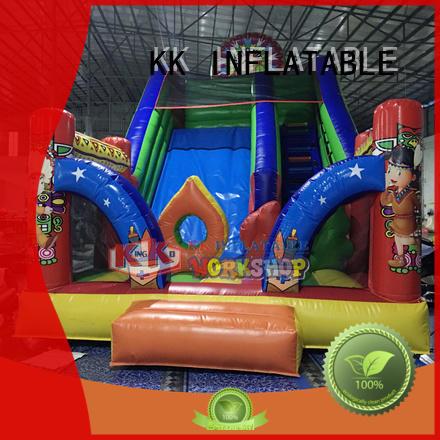KK INFLATABLE animal shape jumping castle manufacturer for playground