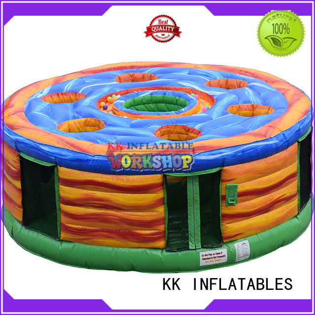 KK INFLATABLE funny kids climbing wall factory direct for entertainment
