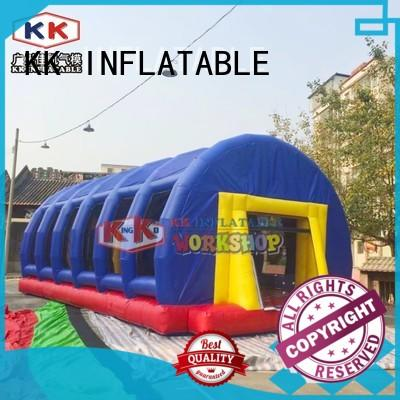 KK INFLATABLE foam kids climbing wall factory direct for paradise