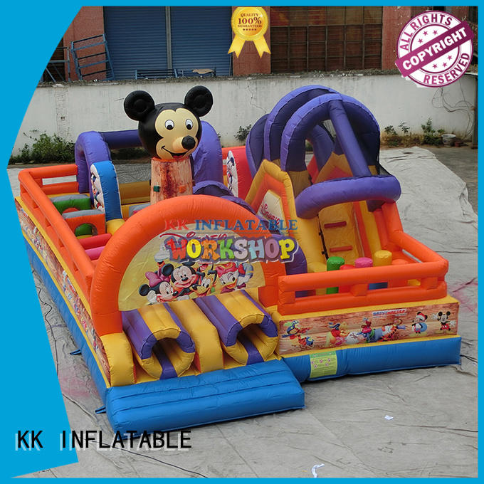 hand indoor inflatable blow inflatable bouncy KK INFLATABLE
