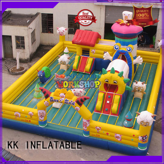 KK INFLATABLE Brand rehearse outdoor custom inflatable assault course