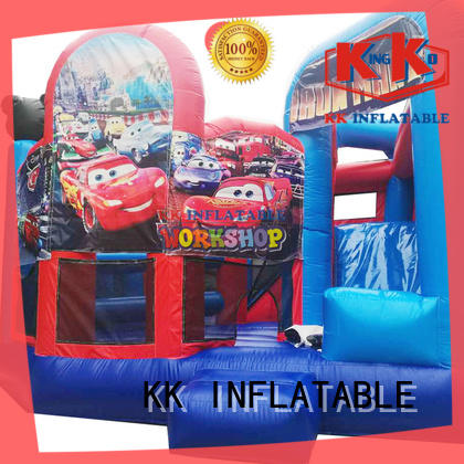 KK INFLATABLE commercial water slide jumper manufacturer for christmas