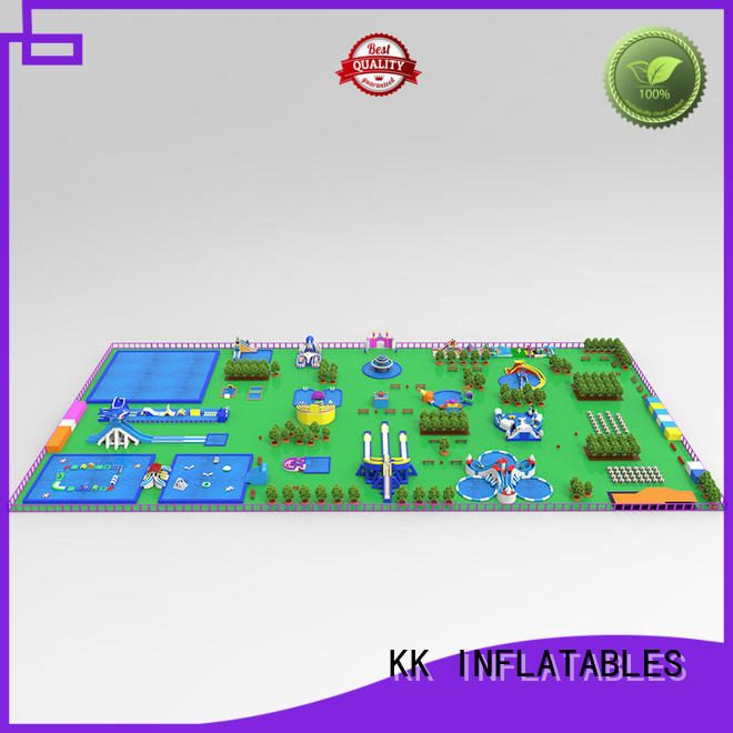 KK INFLATABLE pvc inflatable water parks factory price for amusement park