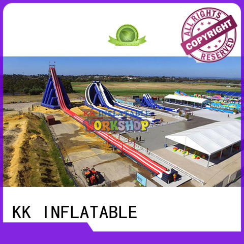 KK INFLATABLE large kids inflatable water park dinosaur for paradise